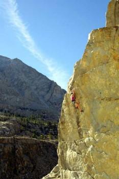 Joi on EZ DUZ IT, 5.12a, Tioga Cliff, Yosemite