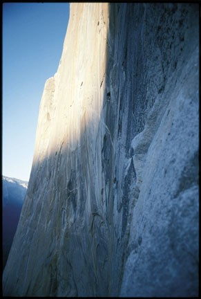 Morning light on the Dawn Wall.
