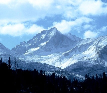 Bear Creak Spire looking Himalayan after an October storm.