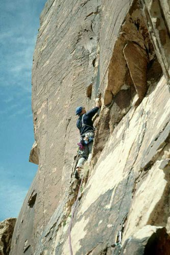 Tim just starting the cool 5.9 dihedral pitch.