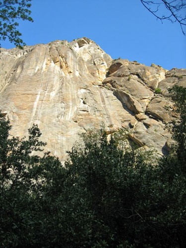 Northeast Buttress of Higher Cathedral is one of the best Grade IV cli...