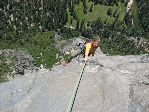 Sarah Felchlin near the end of pitch 11.