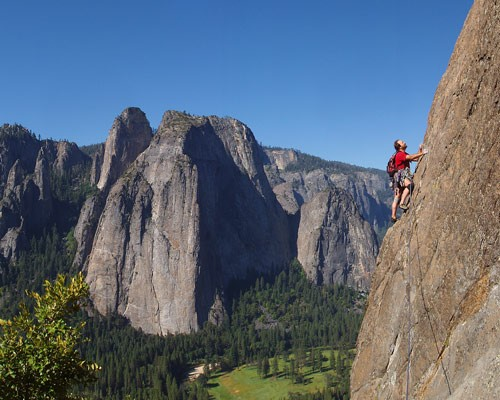 Karl on East Buttress of El Capitan