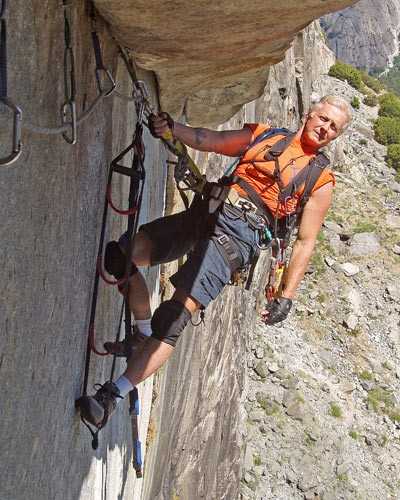 Jack is still going strong at 65 on Zodiac, El Capitan