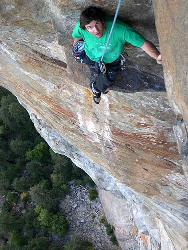 Chris Van Leuven following pitch 4. (12a)