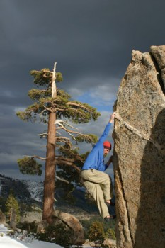Grouse Slabs - Lake Tahoe Bouldering, California, USA. Click to Enlarge