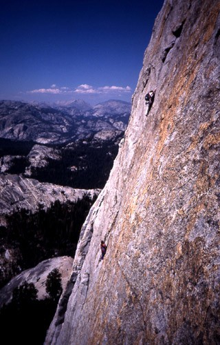 "Bruce Runnalls and Charleen Blackburn on ""Middle Earth"" 5.10b. Tuolumn..."