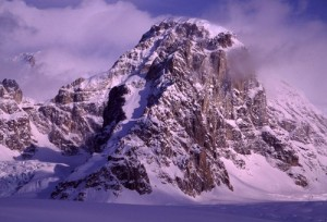 Mt. Dan Beard with a fresh coat of snow.