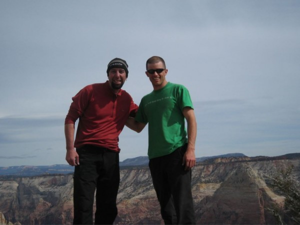 Ammon McNeely and Chris McNamara on the topo of Rodeo Queen, Streaked ...