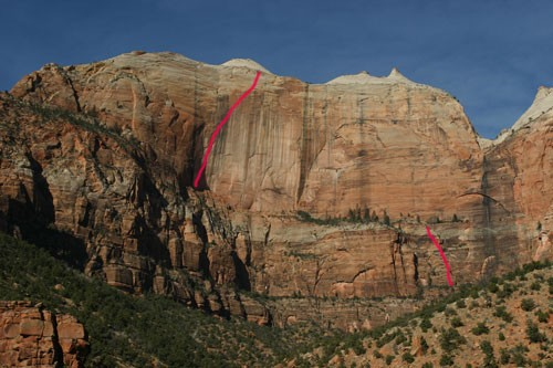 Rodeo Queen Route Line, Zion National Park
