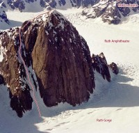 Mount Barrill - Japanese Couloir III, 55-70 degree snow or ice - Alaska, USA. Click to Enlarge