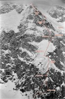 Denali - Cassin Ridge Alaska Grade 5, 5.8, AI 4 - Alaska, USA. Click to Enlarge