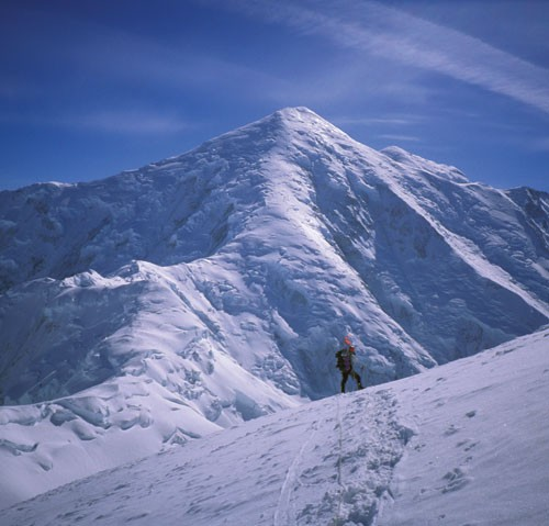 The route follows the stunning center ridge.