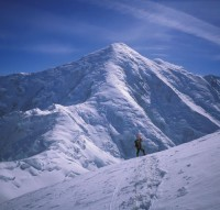 Mount Foraker - Sultana Ridge Alaska Grade 3, 55-degree snow - Alaska, USA. Click to Enlarge