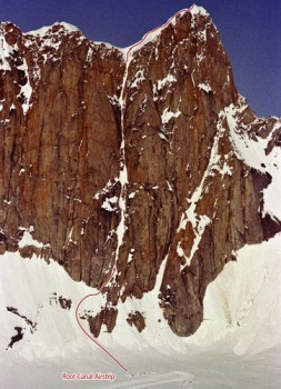 The Mooses Tooth - Ham and Eggs V, 5.9, AI 4 - Alaska, USA. Click to Enlarge