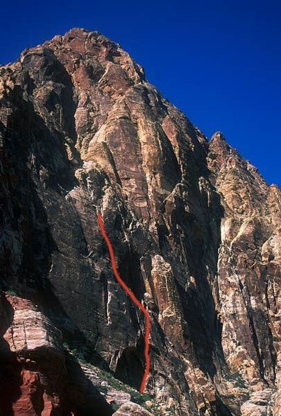Sour Masd is an overlooked awesome varied climb.