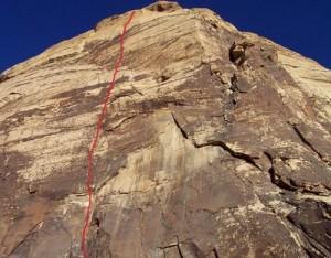 Eagle Wall - Levitation 29 5.11c - Red Rocks, Nevada USA. Click to Enlarge