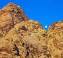 Global Peak - Chuckwalla 5.9 - Red Rocks, Nevada USA. Click for details.