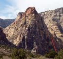 Mescalito North - Dark Shadows 5.8 - Red Rocks, Nevada USA. Click for details.