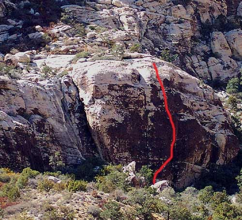The Ragged Edges area in Willow Spring is the most accessible crag in ...