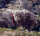 Ragged Edges Wall - Tonto 5.5 - Red Rocks, Nevada USA. Click for details.