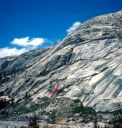 Circle A Wall - Apex Predator 5.11b - Tuolumne Meadows, California USA. Click for details.