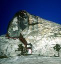 Daff Dome - Cooke Book 5.10a - Tuolumne Meadows, California USA. Click for details.