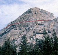 Lamb Dome - On the Lamb 5.9 - Tuolumne Meadows, California USA. Click to Enlarge