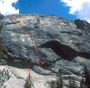 Pywiack Dome - Aqua Knobby 5.8R - Tuolumne Meadows, California USA. Click for details.
