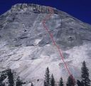 Pywiack Dome - Dike Route 5.9R - Tuolumne Meadows, California USA. Click for details.