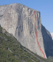El Capitan - Sunkist A3 5.8 - Yosemite Valley, California USA. Click to Enlarge