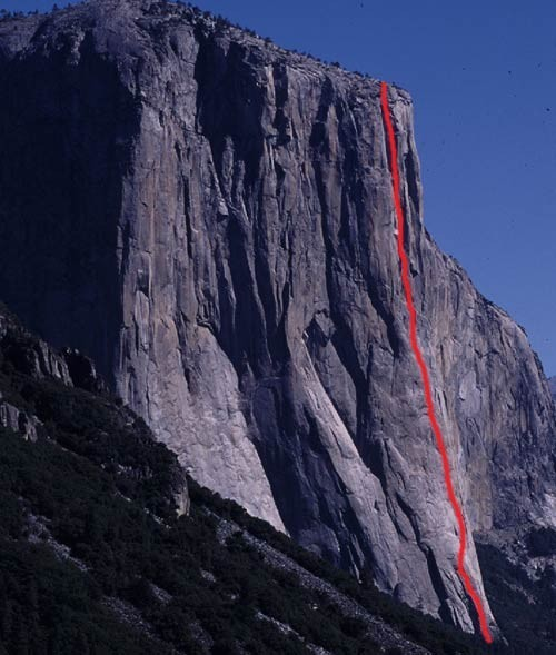 The Nose�the best rock climb in the world!