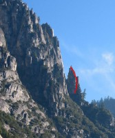Arrowhead Arete - Arrowhead Spire 5.8 - Yosemite Valley, California USA. Click to Enlarge