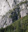 Camp 4 Wall - Cristina 5.11b - Yosemite Valley, California USA. Click for details.