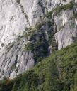 Camp 4 Wall - Doggie Do 5.10a - Yosemite Valley, California USA. Click for details.