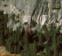 Church Bowl - Book of Revelations 5.11a - Yosemite Valley, California USA. Click for details.