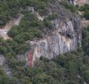 Five and Dime Cliff - Mockery 5.8 - Yosemite Valley, California USA. Click for details.