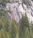 Knob Hill - Just for Starters 5.10a - Yosemite Valley, California USA. Click for details.
