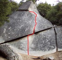 Knob Hill - Pot Belly 5.8 - Yosemite Valley, California USA. Click to Enlarge