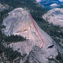 North Dome - Crest Jewel 5.10a - Yosemite Valley, California USA. Click for details.