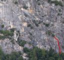 Pat and Jack Pinnacle - Golden Needles 5.8 - Yosemite Valley, California USA. Click for details.