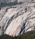 Royal Arches Area - Arches Terrace 5.8 - Yosemite Valley, California USA. Click for details.