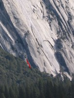 Royal Arches Area - Demimonde 5.11c - Yosemite Valley, California USA. Click to Enlarge