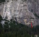Schultz's Ridge - Are You Hard Enough? 5.10d - Yosemite Valley, California USA. Click for details.
