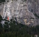 Schultz's Ridge - Bikini Beach Party 5.10a R - Yosemite Valley, California USA. Click for details.