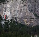 Schultz's Ridge - Caught at the Lip 5.11a - Yosemite Valley, California USA. Click for details.