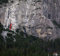 Schultz's Ridge - Crystalline Passage 5.10b - Yosemite Valley, California USA. Click to Enlarge
