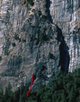 Sunnyside Bench - Lemon 5.9 - Yosemite Valley, California USA. Click to Enlarge