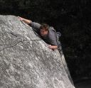 Swan Slab - Goat for It 5.10a - Yosemite Valley, California USA. Click for details.