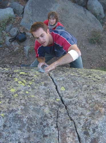 Darrell Gschwendtner on Problem 8�s splitter finger crack.